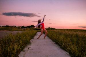 Minnesota Dance Photographer - Minnesota Young Dancer - Rochester Sunset